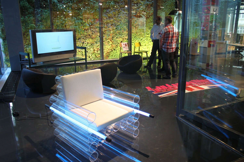 designkooperative im stilwerk lange nacht der museen contemporary light art design interlux. Black Bedroom Furniture Sets. Home Design Ideas