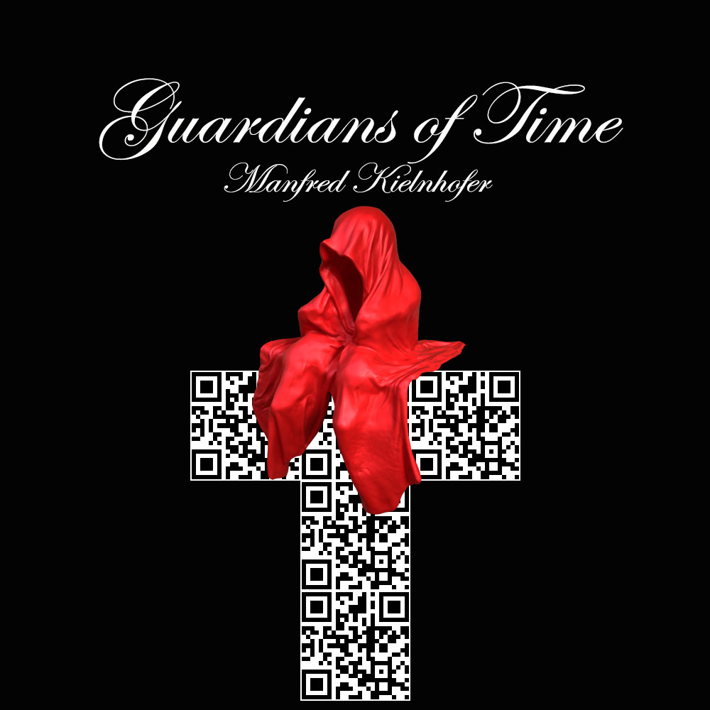 qr-code-guardians-of-time-by-manfred-kili-kielnhofer-contemporary-modern-fine-art-design-sculpture-arts-cross-crucifix