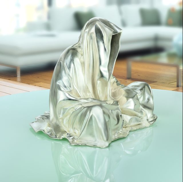 bronze silver contemporary art design sculpture fine arts guardians of time manfred kielnhofer art foundry strassacker 1