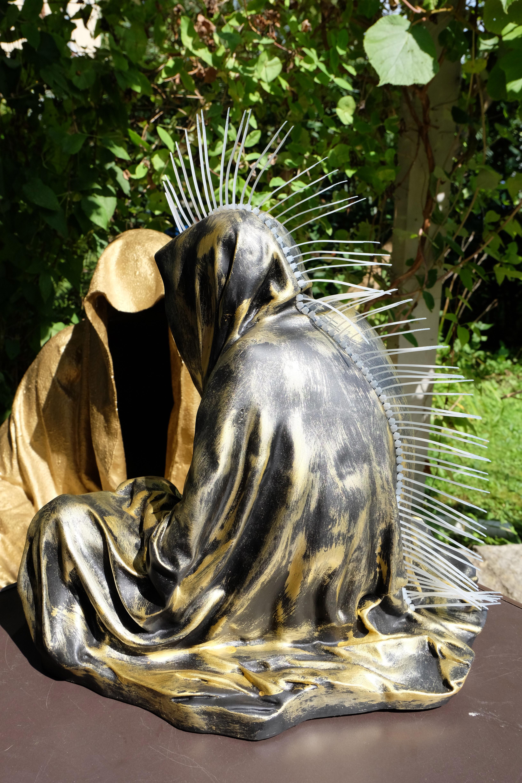 #guardiansoftime-#kielnhofer-#manfredkielnhofer-#Art-#Design-#sculpture-#statue-#cableties-#Artwork-#gallery-#antique-#mohawk-#Iroquois-4192