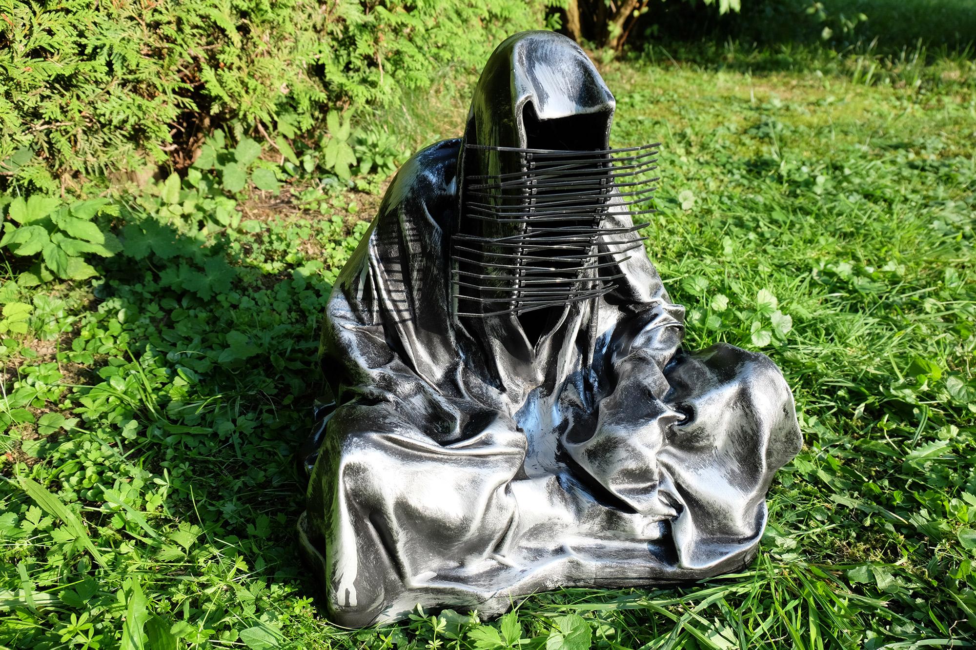 #guardiansoftime-#kielnhofer-#manfredkielnhofer-#Art-#arts-#arte-#Design-#sculpture-#statue-#cableties-#Artwork-#gallery-#antique-#mohawk-#Iroquois-#moslem-#islam-#religion-4284